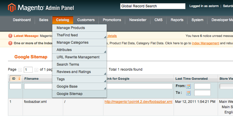 google sitemap gallery of in your backend go to system ue on the
